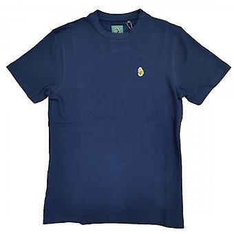 Luke 1977 Luke Boca West Logotipo Texturizado T-Shirt Marinha