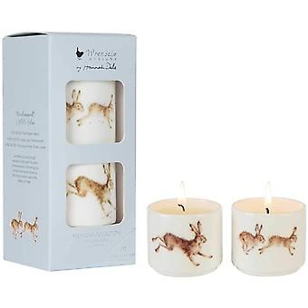 Wrendale Meadowsweet and Lilac Candles