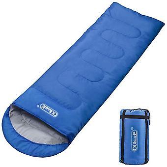 FengChun Schlafsack Deckenschlafsack 3 Jahreszeiten 210T Polyester 220 x 75 cm 5 bis 20 C 100%