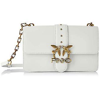 Pinko, LOVE CLASSIC ICON SIMPLY 7 CL Woman, Z14_BIANCO + WHITE, U