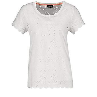 Taifun 571109 T-Shirt, Dirty White, XXL Woman