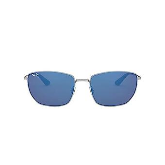 Ray-Ban RB3653 Lunettes, Plata, 60 Unisex-Adulte