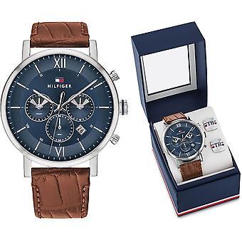טומי הילפיגר שעון אוון חבילה מיוחדת + חפתים 2770062