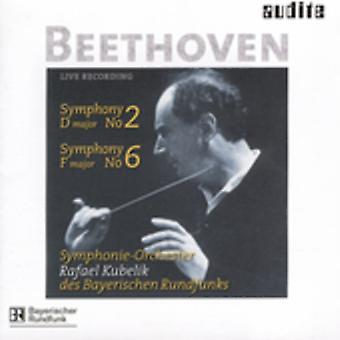 L.V. Beethoven - Beethoven: Symphonies Nos. 2 & 6 [CD] USA import