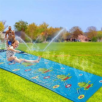 Lawn Inflatable Water Slide Pools Water Splash Slide Waterslide Summer Swimming