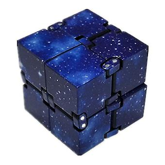 2Pcs the blue sky infinite rubik's cube toy at fingertips, decompression rubik's cube toy az22220