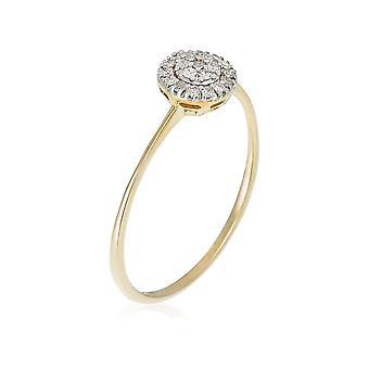 Anillo 'Mi rayo del sol' oro amarillo y diamantes