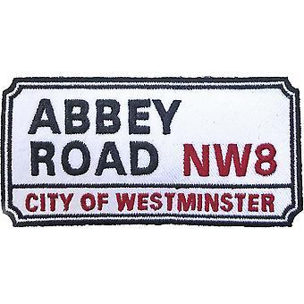 Veiskilt - Abbey Road, NW London Sign Standard Patch