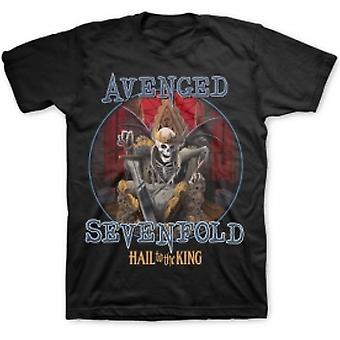 Avenged Sevenfold Deadly Rule Mens Black T-Shirt: Medium