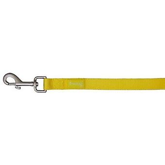Freedog Nylon Webbing Basic Yellow (Dogs , Collars, Leads and Harnesses , Leads)