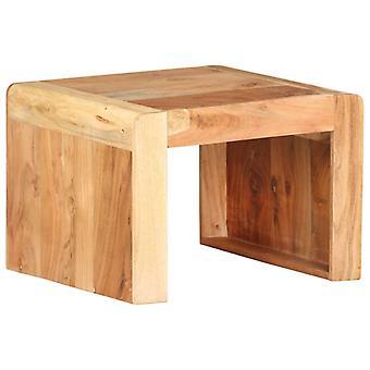 vidaXL الجانب الجدول 43x40x30 سم أكاسيا الخشب الصلب
