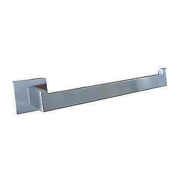 Stainless Steel Bathroom Accessories Set,Single Towel Bar Robe(Silver)