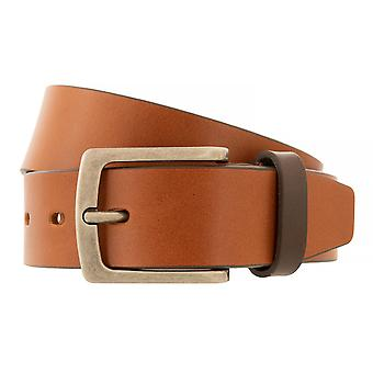 bugatti Belt Men's Belt Full Cattle Leather Cognac 4408