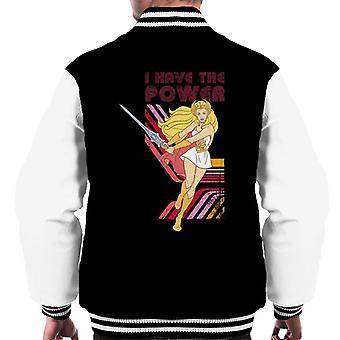 She-Ra Sword Swing I Have The Power Men's Varsity Jacket