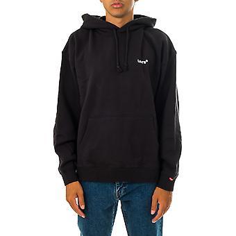 Felpa uomo levi's red tab sweats hoodie a0747-0006