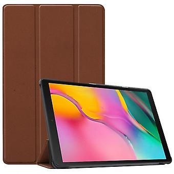 Suitable For Samsung Pad T580/t580n/t585 Tablet Protective Case--brown