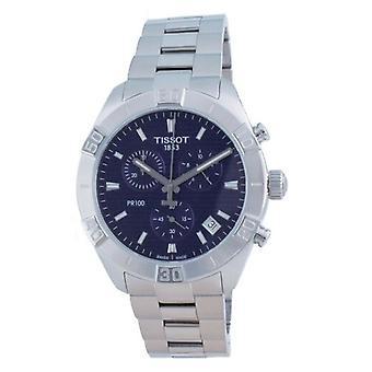 Tissot Pr 100 Sport Chronograph Quartz T101.617.11.041.00 T1016171104100 100m Reloj de Hombre
