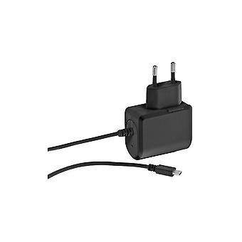 Wall Charger Vivanco 37547 MICRO USB Black (1 m)