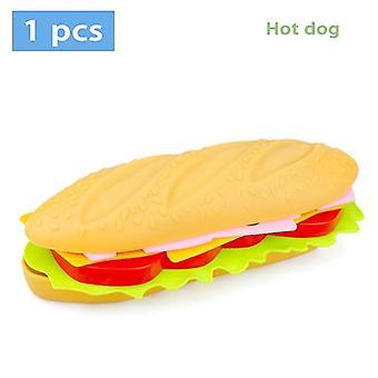 Children Pretend Simulation Food Baby Play House Hamburger Dog French Fries