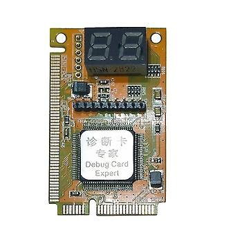 3 ב 1 מיני Pci-e כרטיס אבחון מחשב נייד