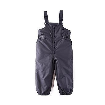 Pantaloni de schi de iarnă Suspender apă & Windproof cald căptușit Pantaloni de lumină