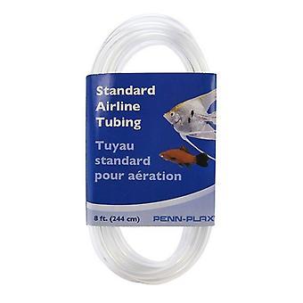 "Penn Plax Standard Airline Tubing - 8' Long x 3/16"" Diameter"