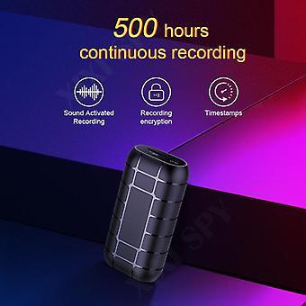 128GB 500hours Micro Voice Recorder Diktafon Pen Audio Sound Mini aktivált digitális professional