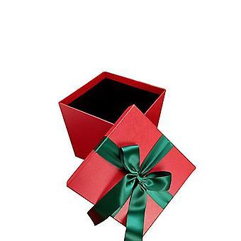 Weihnachtsbox Weihnachtsgeschenk Dekorationsbox (Rot)