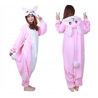 Onesie Kigurumi Pajamas Set Rabbit M 38