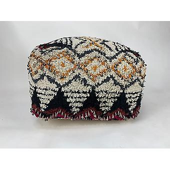 المنسوجة يدويا بوف القطن المنسوجة باليد بوف العثمانية القدم بقية المنزل الديكور مقاعد لينة