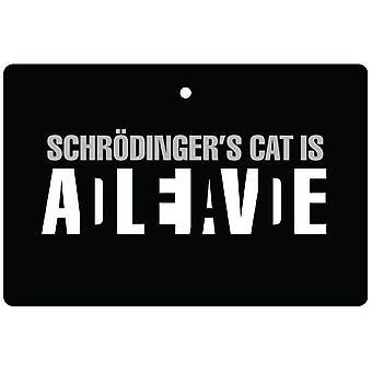 Schrödinger's Cat Car Air Freshener