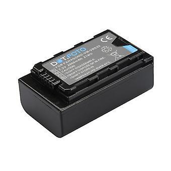 Dot.Foto Panasonic VW-VBD29 batteri - 7.2V / 2900mAh