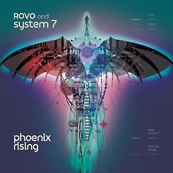 Rovo & System 7 - Phoenix Rising [CD] USA importerer