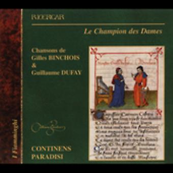 Dufay/Binchois - Les Champion Des Dames [CD] USA import