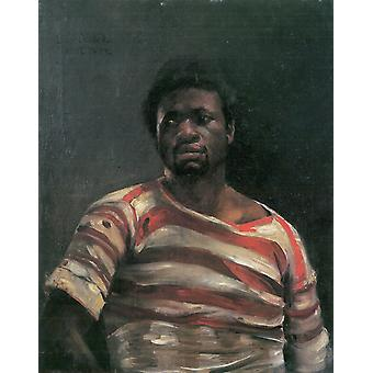 Lovis Corinth - Othello 1884 plakat Print Giclee