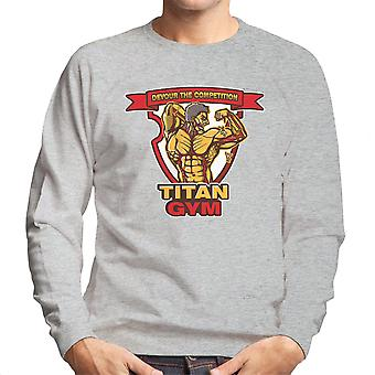 Titan Gym Attack On Titan Men's Sweatshirt