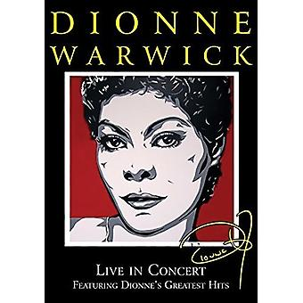 Dionne Warwick - Dionne Warwick Live in Concert [DVD] USA import