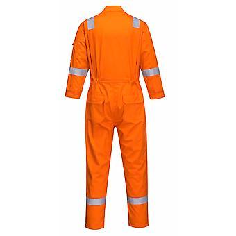 PORTWEST - Bizflame Plus sicurezza resistente alla fiamma Workwear Ladies tuta 350g