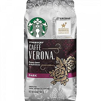 Starbucks Caffe Verona Dark Roast Ground Coffee