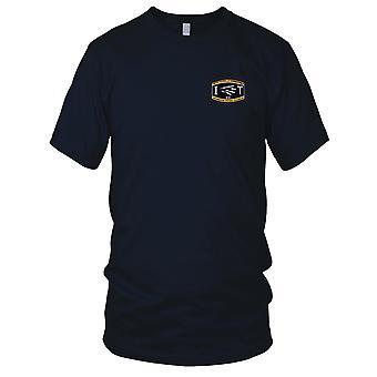 US Navy Waffen Rating u-Boot-Informationen Systeme Techniker gestickt Patch - Herren-T-Shirt