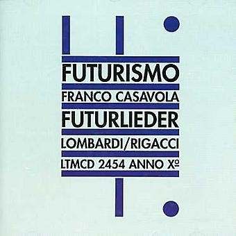 Franco Casavola - Futurlieder [CD] USA import