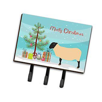 كارولين BB9339TH68 الكنوز سوفولك الأغنام عيد الميلاد المقود أو حائز المفتاح