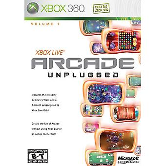 Xbox Live Arcade Unplugged volume 1 (Xbox 360)-in de fabriek verzegeld