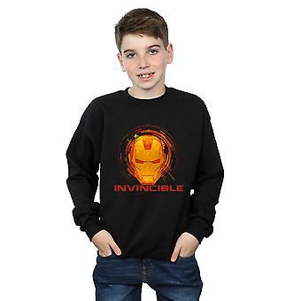 Marvel Avengers jungen Eisen Mann unbesiegbar Sweatshirt