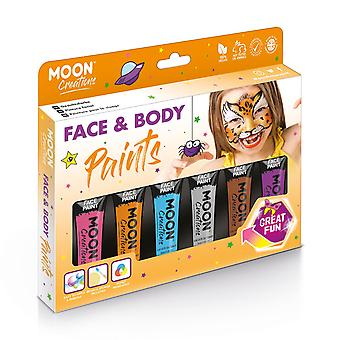 Face & Body Paint Adventure Colours Boxset by Moon Creations - 12ml