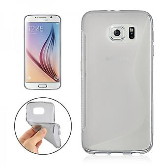 Silicone case for Samsung Galaxy S6 G920 G920F S line grey