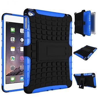 Hybride buiten case Case Blau voor iPad Mini 4 7,9 inch geval