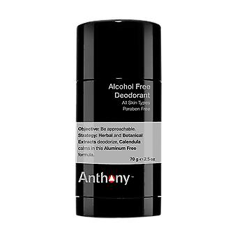 Anthony Alcohol vrije Deodorant 70g