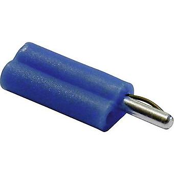 Schnepp F 2020 Banana plug Plug, straight Pin diameter: 2 mm Blue 1 pc(s)