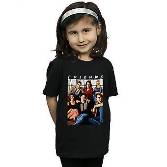 החברים של קבוצת הבנות תמונות חולצת טריקו